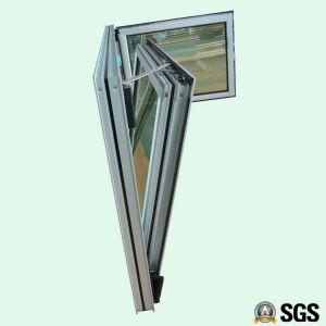 High Quality Grey Colour Aluminum Profile Inward Tilt & Turn Window, Aluminium Window, Window K04003 pictures & photos
