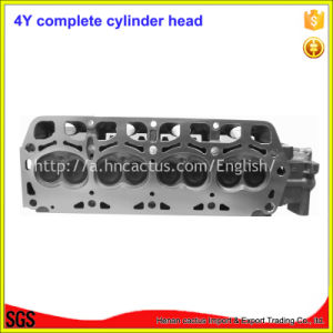 Engine Parts Complete 11101-73020 4y Cylinder Head for Toyota 491q