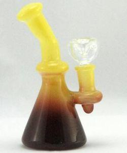 Bent Neck Beaker Glass Smoking Water Pipe pictures & photos