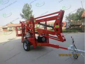 CE Approved Small Boom Lift Aerial Work Platform pictures & photos