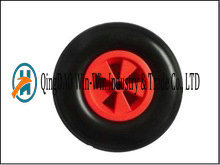 4.00-6 Solid PU Wheel with Spoke Color pictures & photos