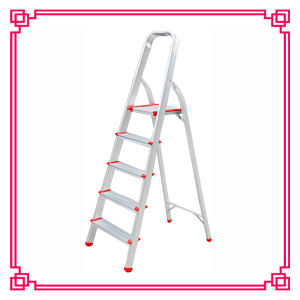 5 Steps Aluminum Extension Ladder/Tripe Aluminum Ladder pictures & photos