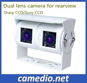 Dual Lens Truck Rear View Camera for Trailer Truck, Bus, Caravan pictures & photos
