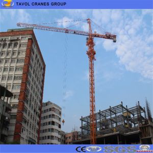 High Safety Coefficient Self Climbing Construction Used Tower Crane Qtz63 (5013) pictures & photos