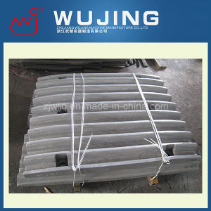 High Manganese Steel Crusher Spare Parts Fix Jaw Plate Made in China