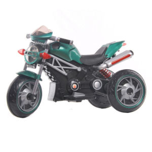 Plastic Baby Electric Motorcycle Scooter pictures & photos