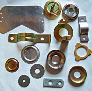 Fabricated Customized Aluminum Stamped Parts pictures & photos