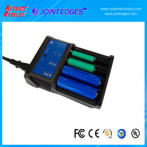 4 Cells Multi Function Charger for Ni-MH/Ni-CD/Li-ion/LiFePO4 Battery Cell