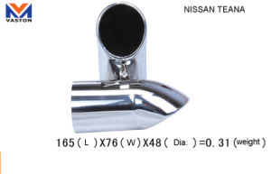 Exhaust/Muffler Pipe for Auto/Nissan Teana, Made of Stainless Steel 304b pictures & photos