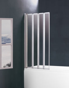 Bi-Fold Shower Bath Screen BS-85