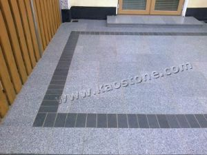 Grey Granite Customized Outdoor Flooring