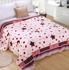Sr-F170213-22high Quality Two Side 100% Polyester Printed Flannel Fabric pictures & photos