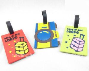 3D PVC Luggage Tag for Tourist Souvenirs pictures & photos