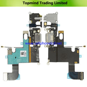 Dock Charger Flex Cable for iPhone 6 with Headphone Jack pictures & photos