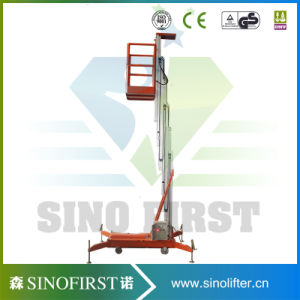 10m Electric Lift Mobile Hydraulic Man Lift pictures & photos