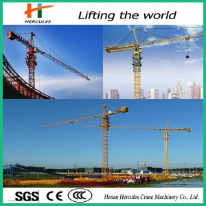 High Quality CE Certified Tower Crane Qtz63 pictures & photos