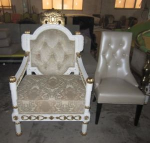 European Style Chair/Hotel Furniture/Restaurant Furniture/Canteen Furniture/Luxury Hotel Sofa/Luxury Hotel Chair/European Style Sofa (GLC-0002) pictures & photos
