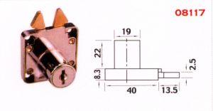 Zamack Drawer Lock 08117