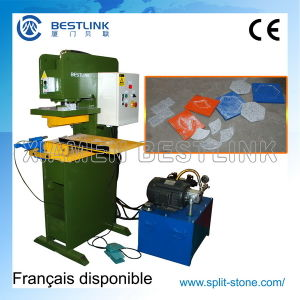 Hydraulic Granite Marble Stone Stamping Pressing Machine for Recycling pictures & photos