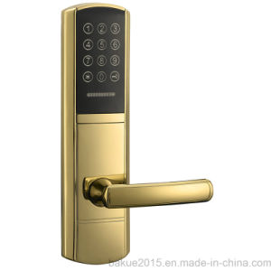 Electronic Code Door Lock for Residential Security with RFID Card pictures & photos