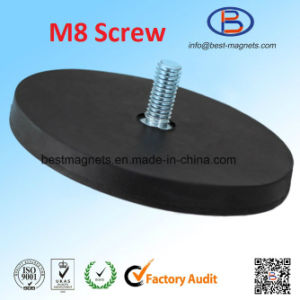 Direct Factory Original Supplier of Rubber Coated Pot Magnet Gripper pictures & photos