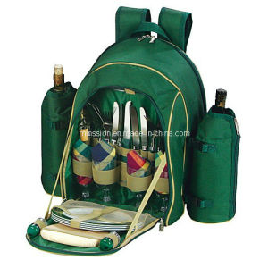 Four Person Insulated Lunch Picnic Cooler Backpack Bag (MS3116) pictures & photos