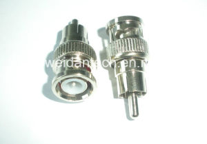 Metal BNC to RCA Adapter pictures & photos