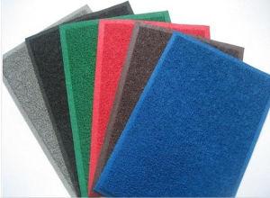 Double Colors PVC Coil Carpet pictures & photos