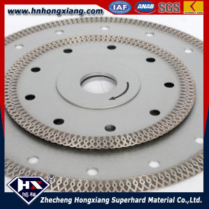 Cyclone Mesh Turbo Diamond Blade for Granite Sandstone Concrete Cutting pictures & photos