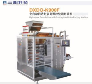 Granule 4 Side Sealing & Multi-Line Packing Machine pictures & photos