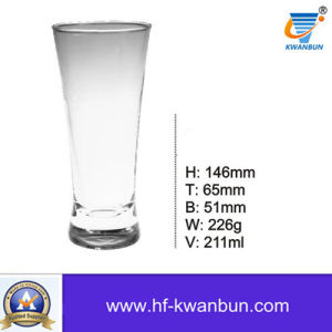 High Quality Glass Cup Clear Glass Beer Mug Kb-Hn0318 pictures & photos