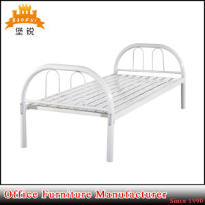 Factory Direct Sale Metal Single Bed for Worker Single Metal/Steel/Iron Bed pictures & photos