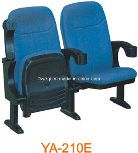 Durable Inexpensive Folding Church Chair with Flip-up Armrest (YA-210E) pictures & photos