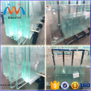 8mm, 10mm, 12mm Clear Tempered Bathroom Shower Door Glass Panel pictures & photos
