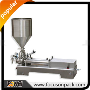 Double Heads Piston Paste Filling Machine pictures & photos