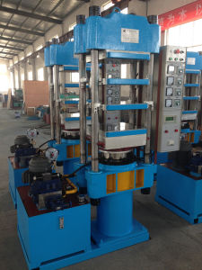 Rubber Bridge Bearing Hot Platen Press/Rubber Hydraulic Press pictures & photos