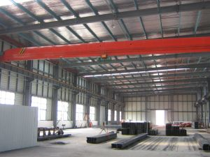 Fire Proof Paint Steel Warehouse Prefab Warehouse Steel Structure Warehouse pictures & photos