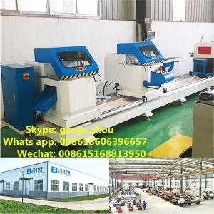 UPVC Proifle Aluminum and PVC Cutting Machine pictures & photos