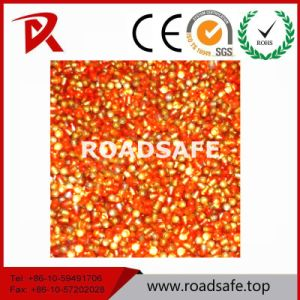 Road Security Reflective Road Reflector Lens 43 Glass Beads pictures & photos