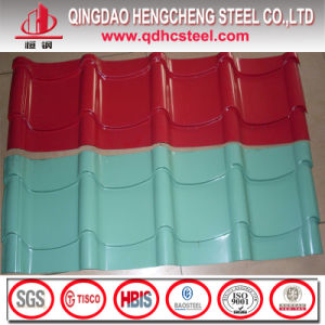 Color Coated Corrugated Metal Long Span Roofing Sheet pictures & photos