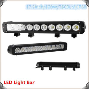 LED Light Bar 8-100W 1row IP 68 Super Bright pictures & photos