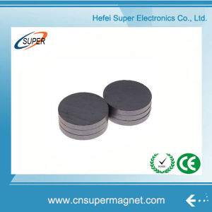 High Grade Sintered Y10t Disc Ferrite Magnets pictures & photos