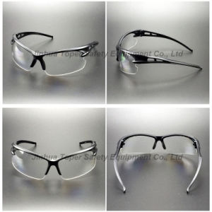 Scratch Resistant Clear PC Lens Safety Glasses (SG120) pictures & photos