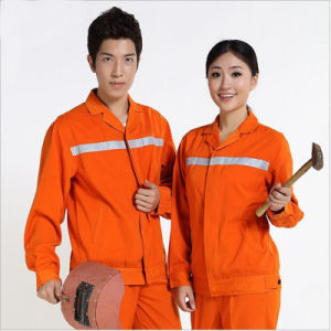 Custom High Quality Reflective Tape Worker Uniform pictures & photos