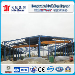 Portal Frame Steel Structure Workshop/Warehouse Turnkey Project Supplier pictures & photos
