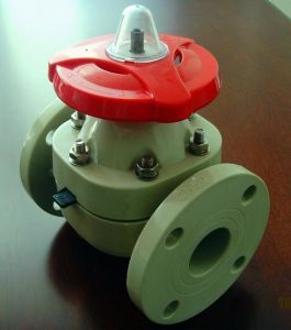 Flange Connection Fully Plastic Diaphragm Valve (G41F-10) pictures & photos