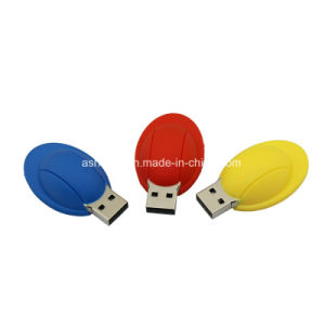 Helmet USB Stick Customed PVC Hat USB Flash Drive pictures & photos