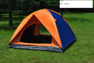 Popular Double-Skin Polyester Camping Tent for 2-4 Persons (JX-CT020-1) pictures & photos
