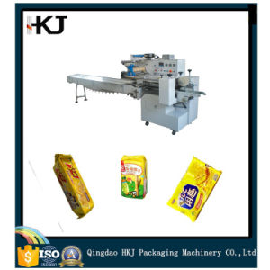 China Made Automatic Packing Machine for Cookies Biscuit Packing Machinery pictures & photos
