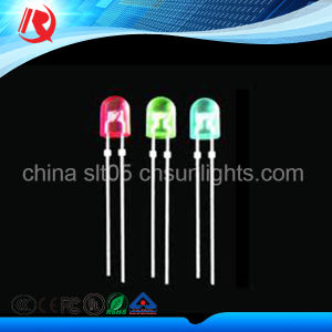 2016 Good Quality 5mm LED Super Brightness Red Diffused LED pictures & photos